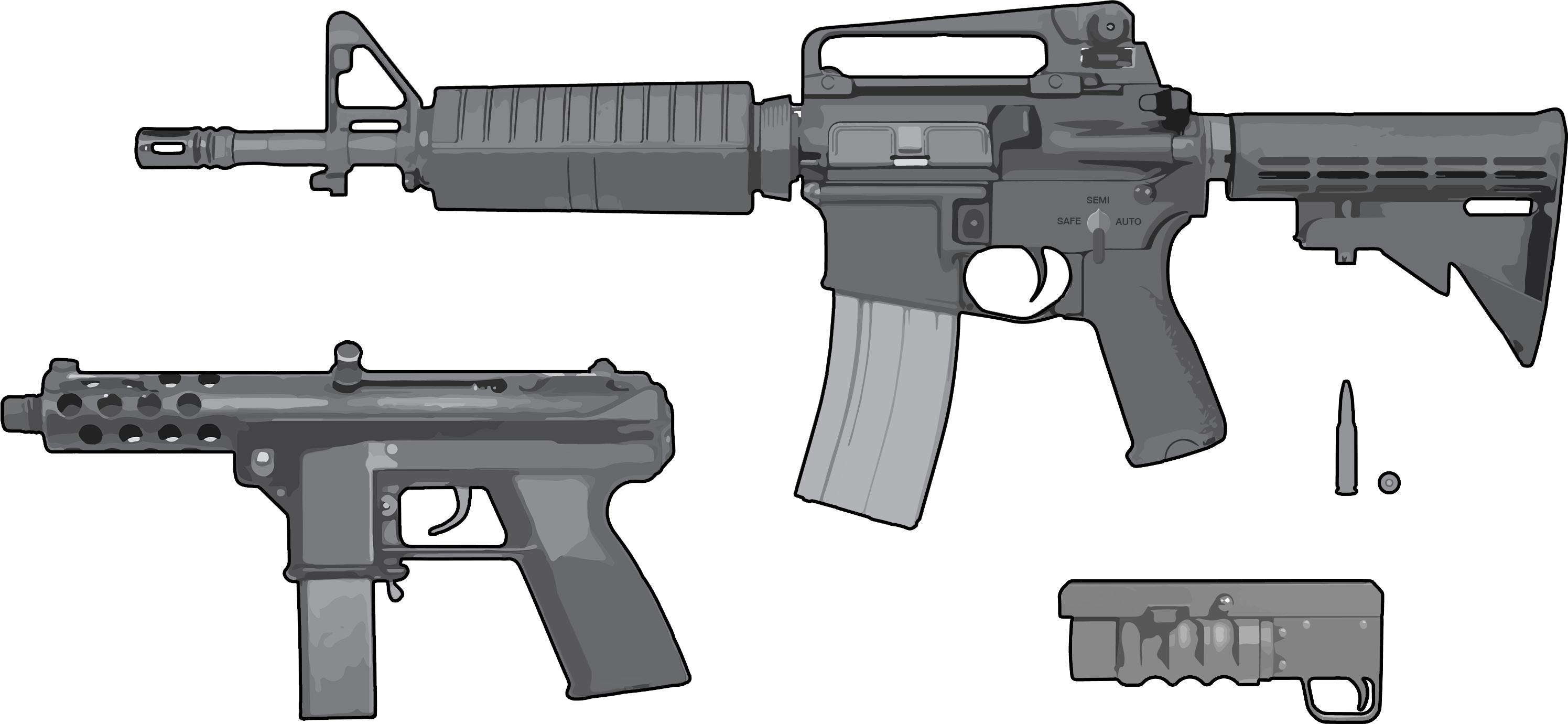mutable quintessence: the parts that make an assault weapon   trendct